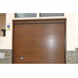 PS MR - Puerta seccional acanalada marrón 8014 (m2)