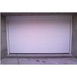 PS BL1 - Puerta seccional acanalada blanca (m2)
