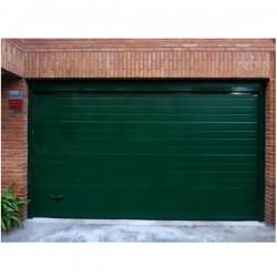 PS VD - Puerta seccional acanalada verde 6009 (m2)