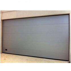 PS PT - Puerta seccional acanalada plata 9006 (m2)