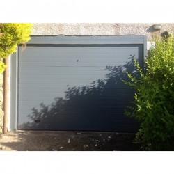 PS GR - Puerta seccional acanalada gris 70162 (m2)