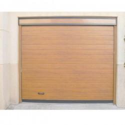 PS MDC - Puerta seccional acanalada madera clara W89 (m2)