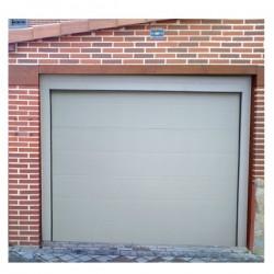 PSL BL - Puerta seccional lisa blanca (m2)