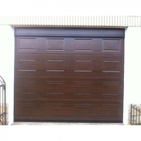 PSC MD W96 - Puerta seccional cuarterón marrón W96 (m2)