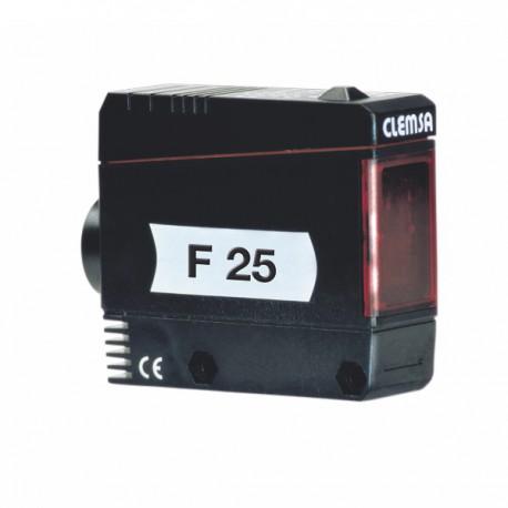 F25 - Fotocélula supervisada de espejo. Alcance 15 m.