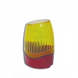 LD 34 - Lámpara LED de señalización multialimentación 12/24/230. Fija e intermitente.