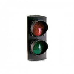SF 423 - Semáforo LE D rojo y verde. 230 V. Instalación en pared.