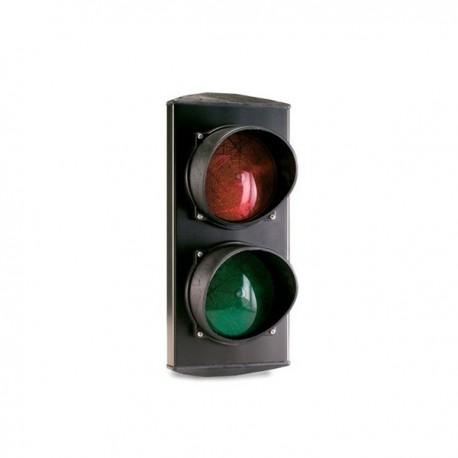 SF 424 - Semáforo LED rojo y verde 24 V. Instalación en pared