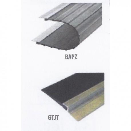PFL BPAS AC - Perfil aluminio banda pasiva 67*37. 2 m