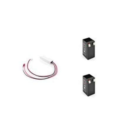 ADO01 - Cargador de baterías + 2 baterias 1,2 Ah