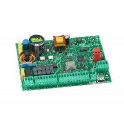 CLAS 170 - Cuadro de control programable para una o dos cancelas con alimentador switching 230V.