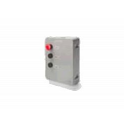 AVI02 - Tapa caja cuadro VIVO con pulsadores open-close y seta stop