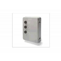 AVI03 - Tapa caja cuadro VIVO con pulsadores openclose y pulsador stop.