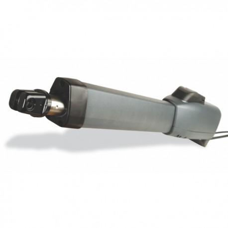 AA 424B - Accionamiento electromecánico para puerta abatible con vástago 400mm con bloqueo 24V.