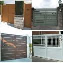 Puerta abatible 3000x2200 mm. Lama 100 2H