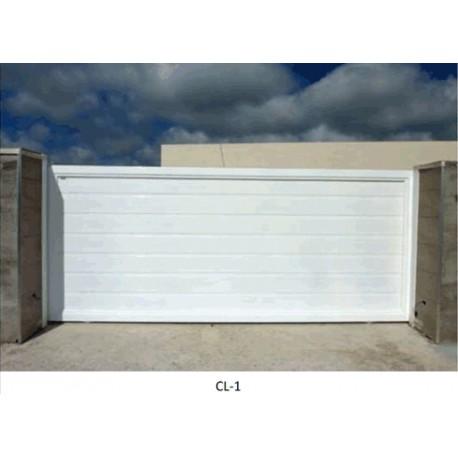 Puerta corredera 2500x2200 mm. Lama 100