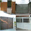 Puerta abatible 2500x2200 mm. Lama 200 2 H