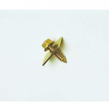 TA 12 - Tornillo y arandela cremallera nylon. (Kit 24 uds)