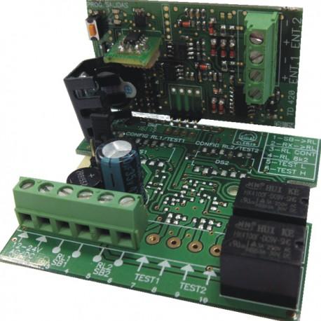 TD 420 U - Tarjeta decodificadora RFID universal 2 canales