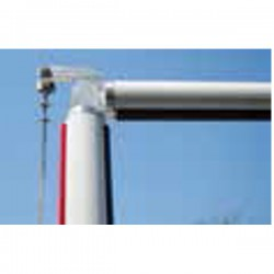 Kit barra articulada para barra redonda S (máx. 4 m)