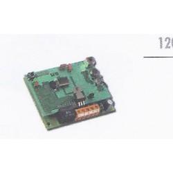RMV 2 U - Receptor universal 2 canales. 433 MHz. 12/24V dc/ac. MASTERcode.