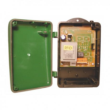 RV 44 - Receptor exterior 4 canales. 433 MHz. 230 Vac. 12/24V dc/ac. MASTERcode.